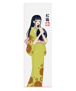 One Piece Kikunojo Textile Wall Banner