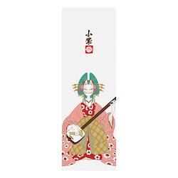 One Piece Komurasaki (Mask Ver.) Textile Wall Banner