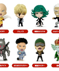 One Punch Man 16d Collectible Figure Collection: ONE-PUNCH MAN Vol.2