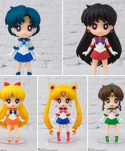 Sailor Moon Set of 5 figures Figuarts mini
