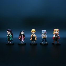 Demon Slayer: Kimetsu no Yaiba WCF Set of 5 Figures
