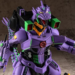 Godzilla vs. Evangelion Mechagodzilla (Type-3 Kiryu EVA Unit-01 Color Ver.) Plastic Model Kit