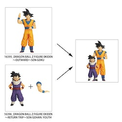 Dragon Ball Z Goku & Gohan Zokei Ekiden Set of 2 Figures