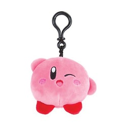 Kirby Mocchi-Mocchi Wink Clip On Plush Hanger