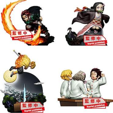 Demon Slayer: Kimetsu no Yaiba Petitrama Vol.1 Set of 4 Figures