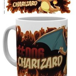 Pokémon Charizard Fire Mug 300ml