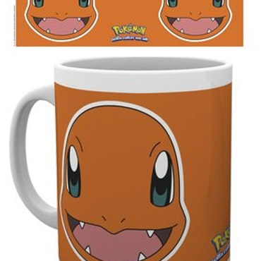 Pokémon Charmander Face Mug 300ml