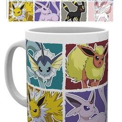 Pokémon Eevee Evolution Mug 300ml