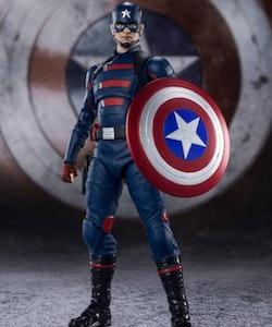 The Falcon and the Winter Soldier Captain America (John Walker) S.H.Figuarts