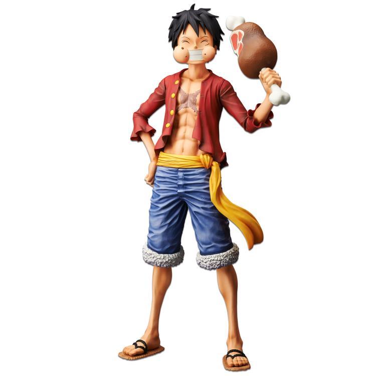 One Piece Monkey D. Luffy Grandista Nero