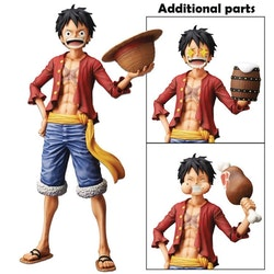 One Piece Monkey D. Luffy Grandista Nero