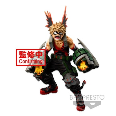 My Hero Academia World Figure Colosseum Super Master Stars Piece Katsuki Bakugo (Brush)