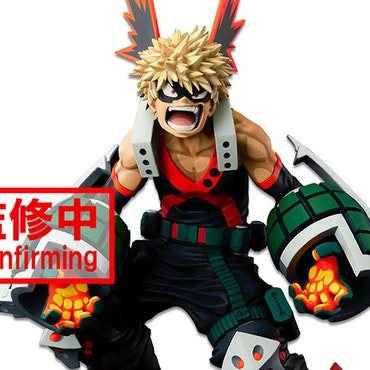 My Hero Academia World Figure Colosseum Super Master Stars Piece Katsuki Bakugo (Two Dimensions)