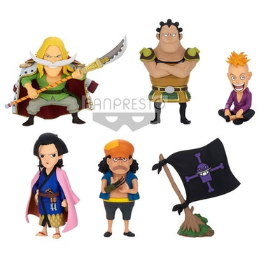 One Piece WCF Wano Kuni Kaisouhen Vol.3 Set of 6 Figures