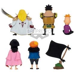 One Piece WCF Wano Kuni Kaisouhen Vol.3 Set of 6 Figures