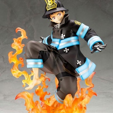 Fire Force Shinra Kusakabe Kotobukiya