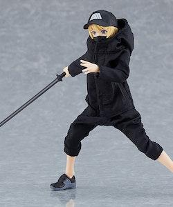 Female Body (Yuki) with Techwear Outfit Figma
