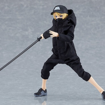 Female Body (Yuki) with Techwear Outfit Figma