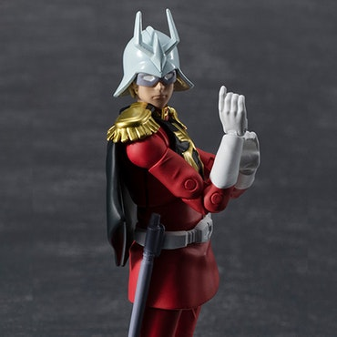 Mobile Suit Gundam Principality of Zeon Army Soldier 06 Char Aznable G.M.G.