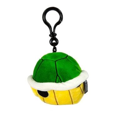 Mario Kart Mocchi-Mocchi Clip On Plush Hanger Green Shell