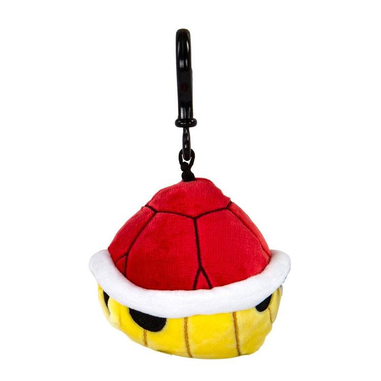 Mario Kart Mocchi-Mocchi Clip On Plush Hanger Red Shell