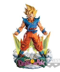 Dragon Ball Z Super Master Stars Diorama Super Saiyan Goku (The Brush)