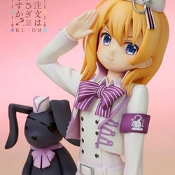 Is the Order a Rabbit Cocoa (Military Uniform Ver.)
