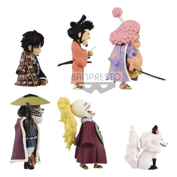 One Piece WCF Wano Kuni Vol.8 Set of 6 Figures