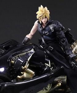 Final Fantasy VII: Advent Children Cloud Strife and Fenrir Play Arts Kai