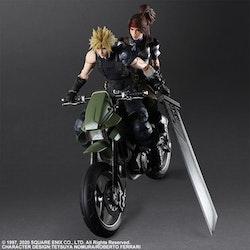 Final Fantasy VII Remake Jessie & Cloud & Motorcycle Set Play Arts Kai