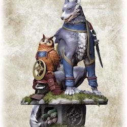 Monster Hunter Palamute Capcom Figure Builder Creator's Model