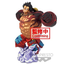 One Piece Monkey D. Luffy Gear 4 BWFC 3 Super Master Stars  (Two Dimensions)
