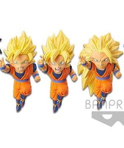 Dragon Ball Z WCF Dokkan Battle 5th Anniversary Set of 5 Figures