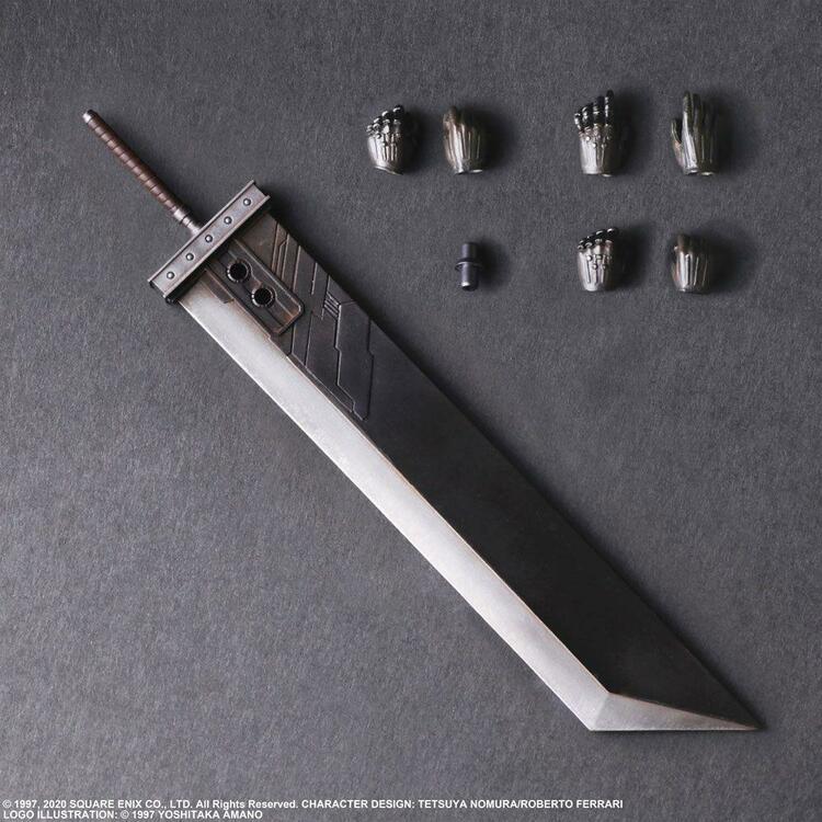 Final Fantasy VII Remake Cloud Strife (Ver.2) Play Arts Kai