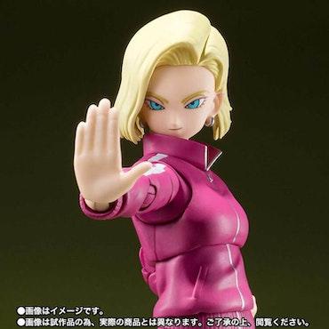 Dragon Ball Super Android 18 (Universe Survival Saga) S.H.Figuarts