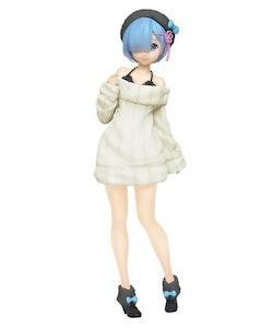 Re:Zero Rem (White Knit Dress Ver.) Precious Figure