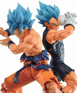 Dragon Ball SSGSS Goku & SSGSS Vegeta Ichibansho - VS Omnibus Super