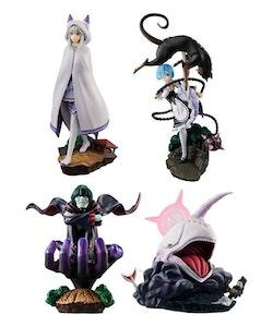Re:Zero Petitrama Boxed Set of 4 Figures