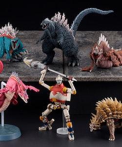 Godzilla Singular Point Hyper Modeling Series Box of 6 Figures