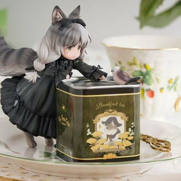 Decorated Life Collection Tea Time Cats Li Hua