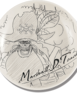 One Piece Decorative Porcelain Plate - Ichibansho - Ex Devils (A)