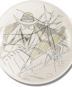 One Piece Decorative Porcelain Plate - Ichibansho - Ex Devils (B)