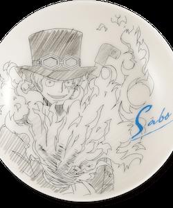 One Piece Decorative Porcelain Plate - Ichibansho - Ex Devils (E)
