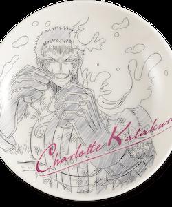 One Piece Decorative Porcelain Plate - Ichibansho - Ex Devils (F)