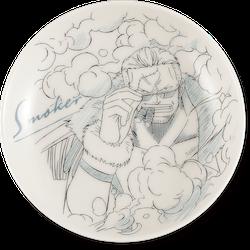 One Piece Decorative Porcelain Plate - Ichibansho - Ex Devils (G)