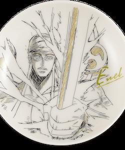 One Piece Decorative Porcelain Plate - Ichibansho - Ex Devils (K)