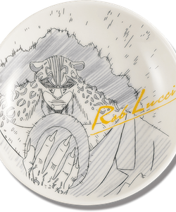 One Piece Decorative Porcelain Plate - Ichibansho - Ex Devils (L)