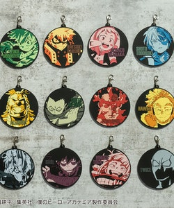 My Hero Academia Katsuki Bakugo Keychain Ichibansho - Hero vs Villains
