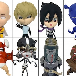 One Punch Man 16d Collectible Figure Collection: ONE-PUNCH MAN Vol.1