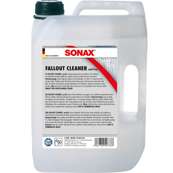 SONAX FALLOUT CLEANER - ACID FREE  5 L